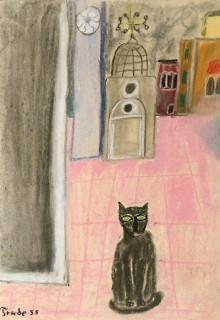 Katze in Venedig I