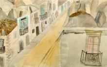 Häuserzeile auf Ponza