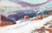 Mühlviertler Winterlandschaft II