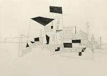 Kubistische Häuser