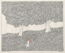 Dichter in Landschaft