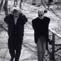 Künstler Anton Drioli und Schriftsteller Karl Markus Gauß