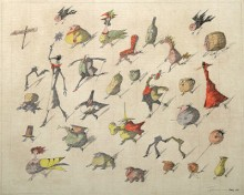 Paul Flora - Poster, Ad Absurdum