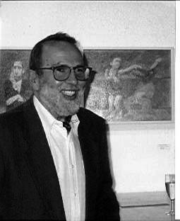 Portrait Künstler Ezequiel (Lopez-Garcia)