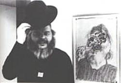 Portrait Karl Anton Fleck Künstler