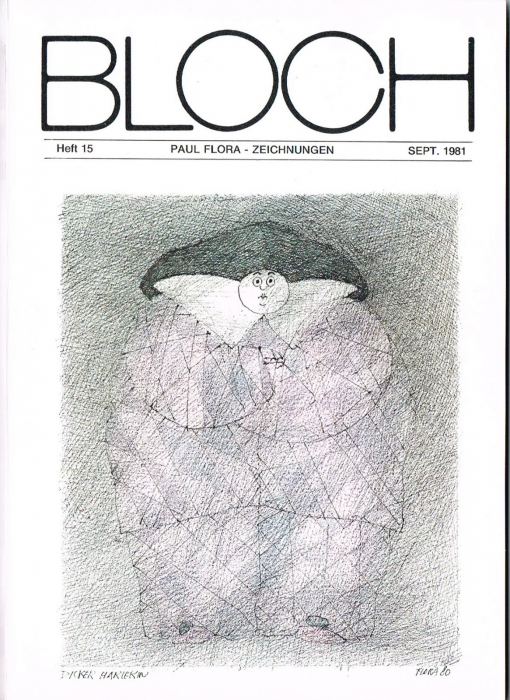 Buch Paul Flora Zeichnungen Bloch Nr15
