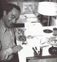 Roland Topor Portrait