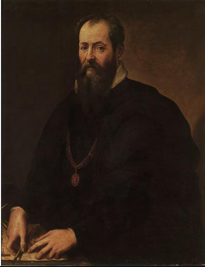 Vasari Selbstportrait