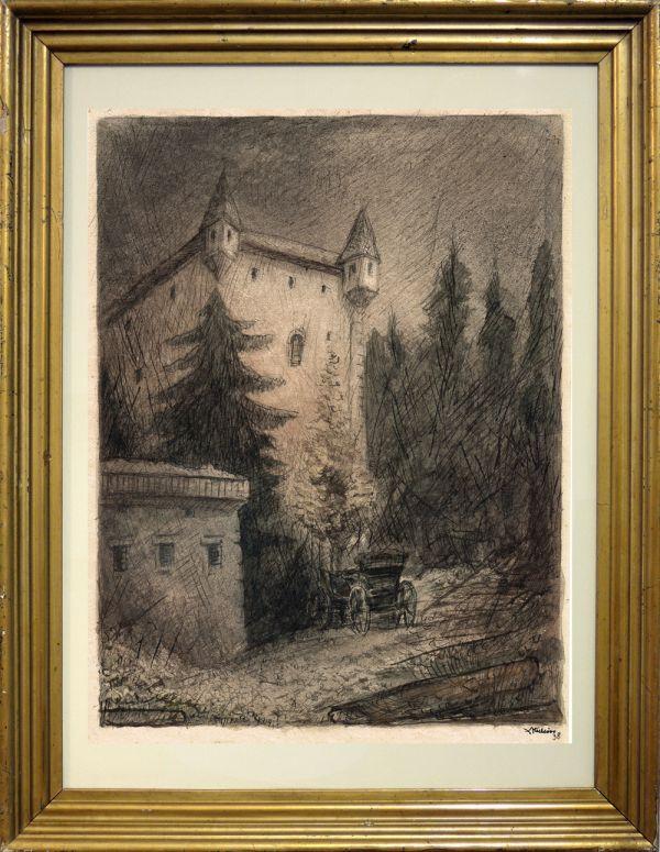 Schloss Goldegg von Alfred Kubin