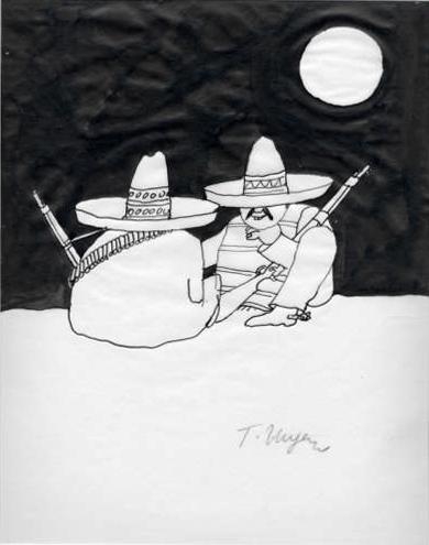 Tomi Ungerer, Mexikanische Banditen