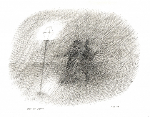 Jack the Ripper von Paul Flora