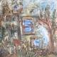 Fatima Ölbild Verwunschenes Haus 1990